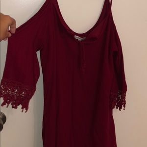 Charlotte Russe red dress.